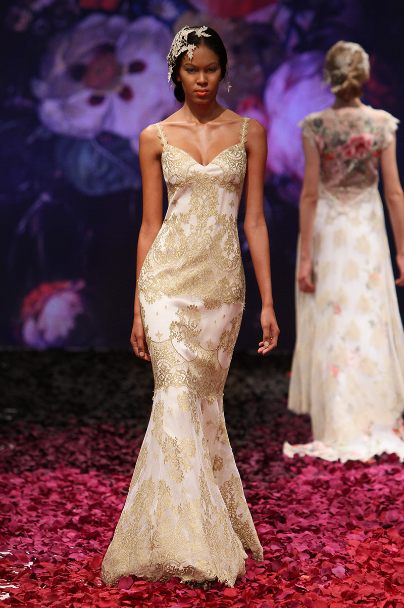 The Alchemy gown by Claire Pettibone, available soon at Little White Dress Bridal Shop