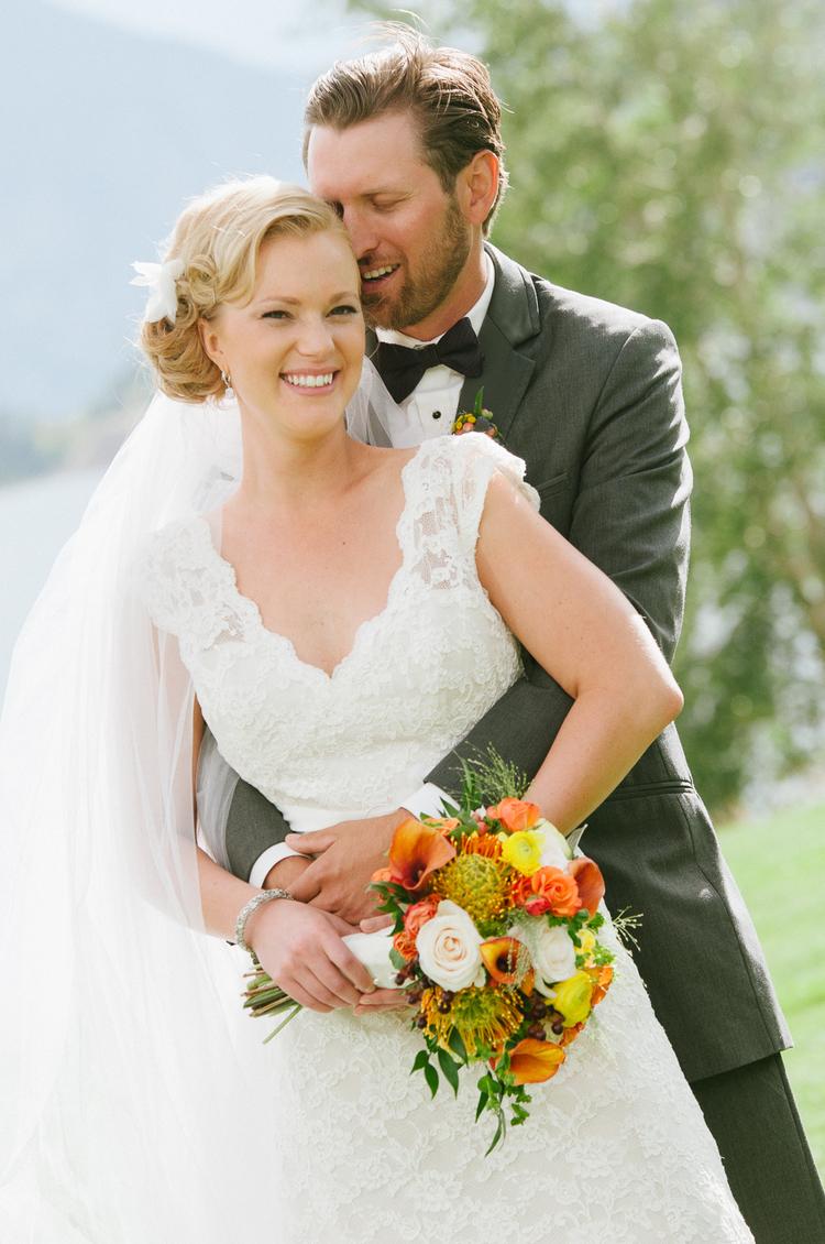LWD Bride: Sara\'s Mountain Lakeside Wedding — Little White Dress ...