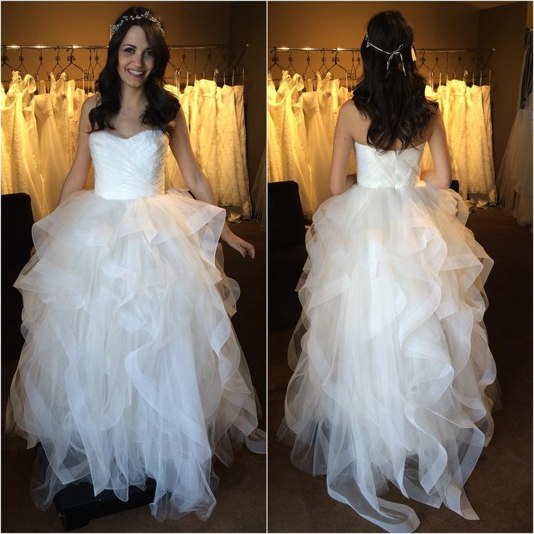 New Reem Acra Bridal Gowns at Little White Dress! — Little White ...