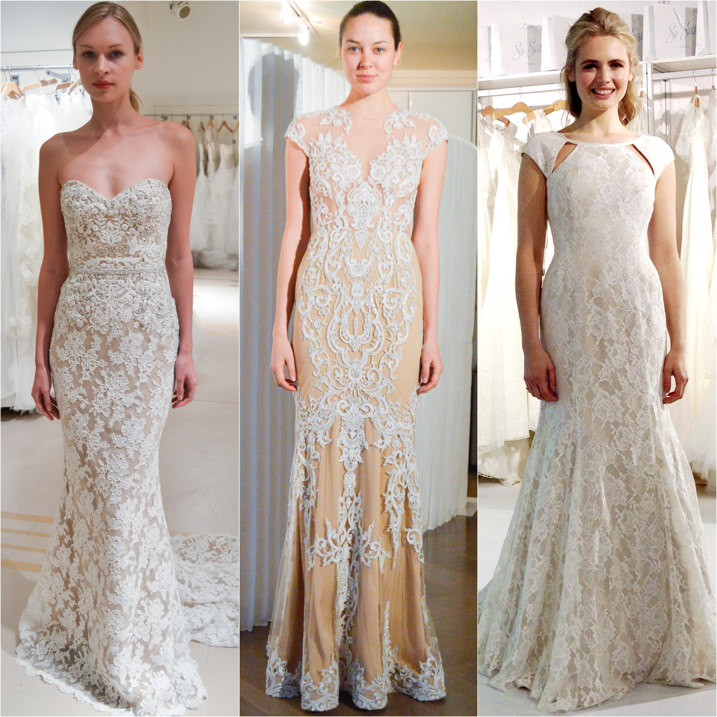 2015 Designer Wedding Gowns: Spring 2015 Bridal Trend Report