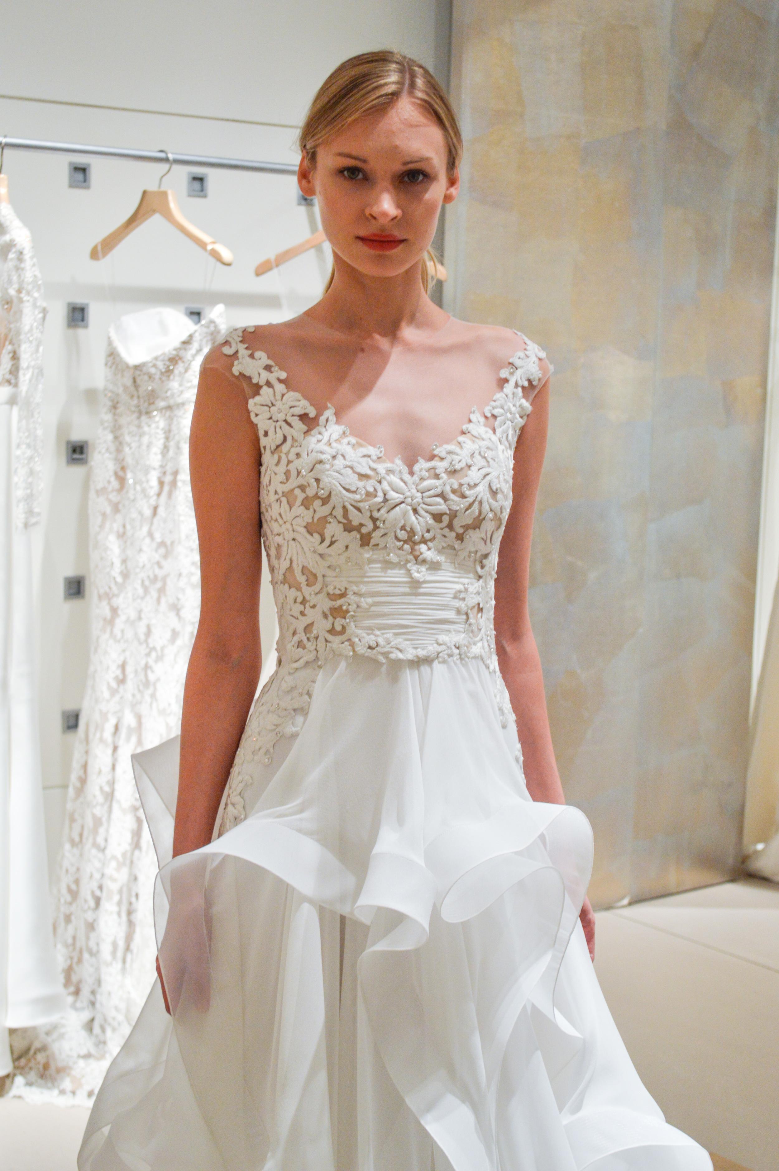9e994e2df4 Reem Acra Spring 2015 Bridal Collection — Little White Dress Bridal ...