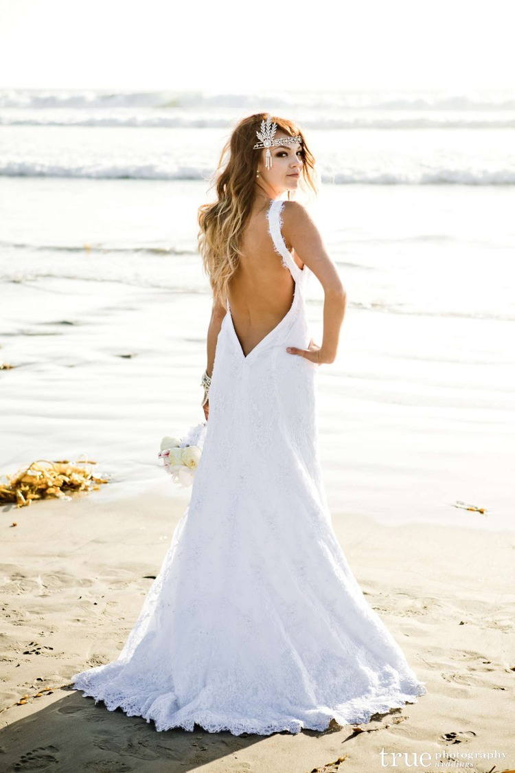 LWD Bride: Charlie\'s California Beach Wedding — Little White Dress ...
