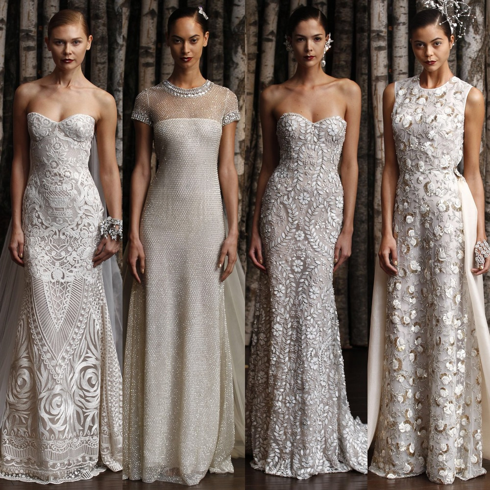Naeem Khan Little White Dress Bridal Shop Denver Colorado