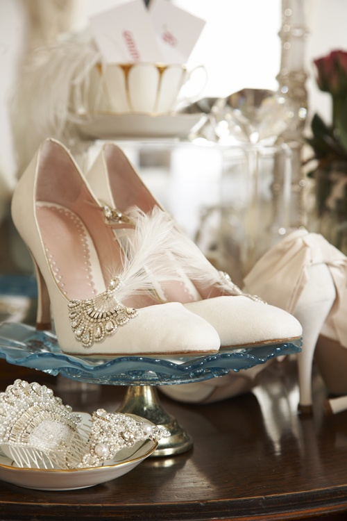 Emmy London shoes Little White Dress Bridal Shop Wedding Denver Colorado