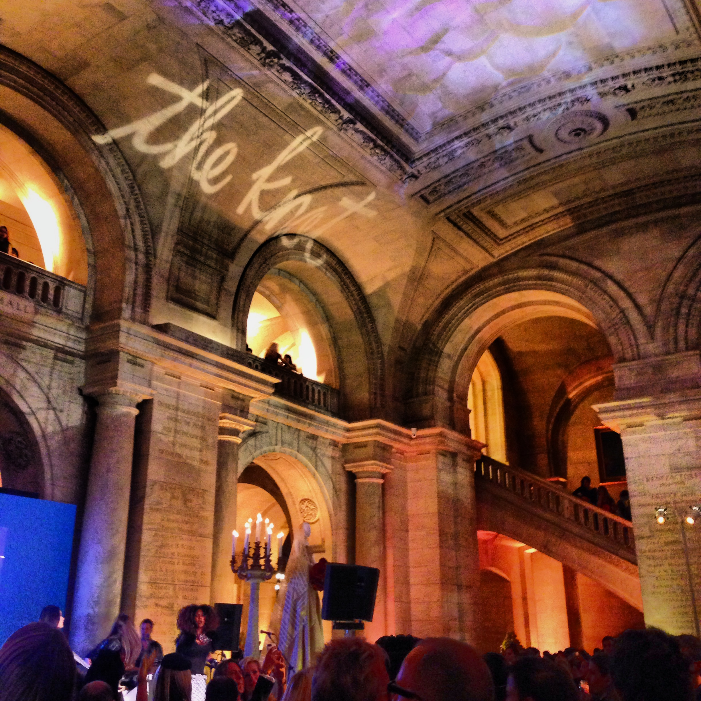 Bridal Market is always capped off by the most fabulous parties, including The Knot Gala, held annually at the spectacular New York Public Library