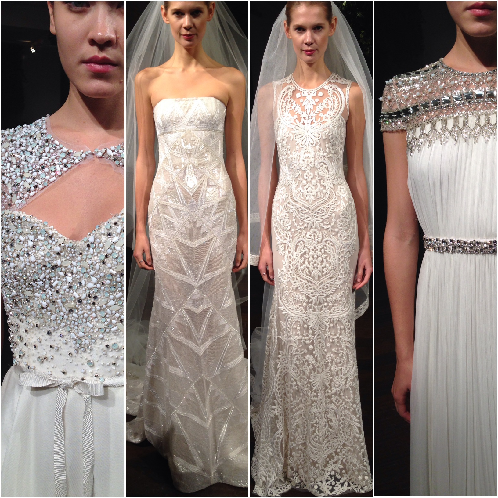 The stunning Naeem Khan presentation