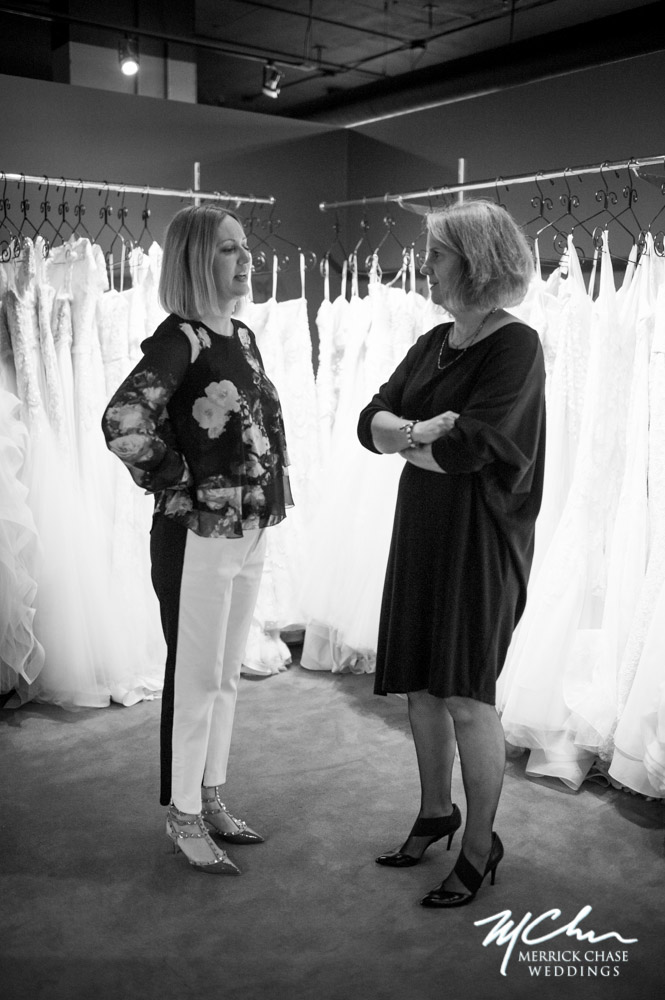 Claire Pettibone with LWD owner Cate Malone