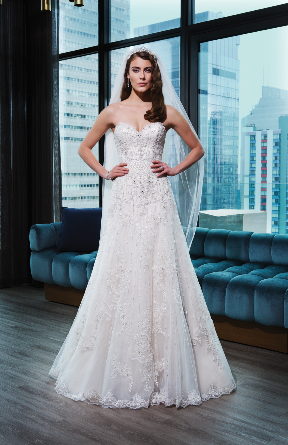 Spotlight on: Justin Alexander Signature — Little White Dress Bridal ...