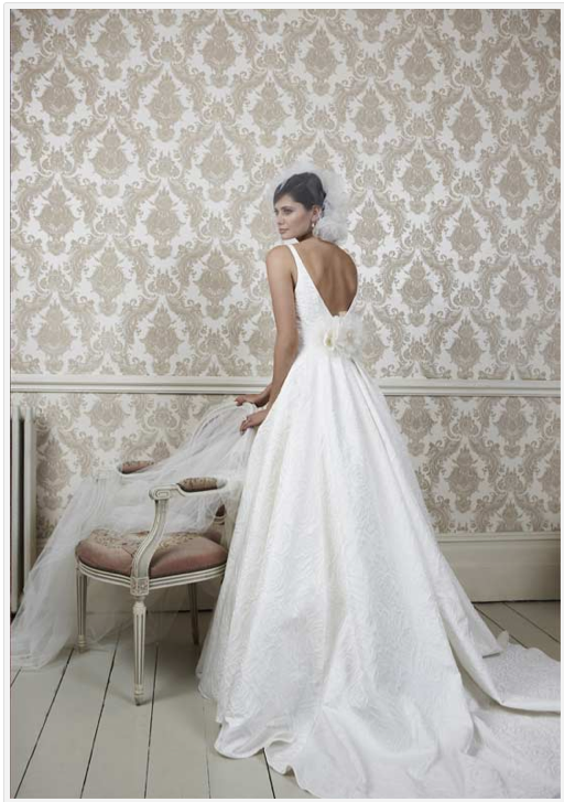 Martha stewart posted about our sassi holford trunk show for Wedding dress trunk shows