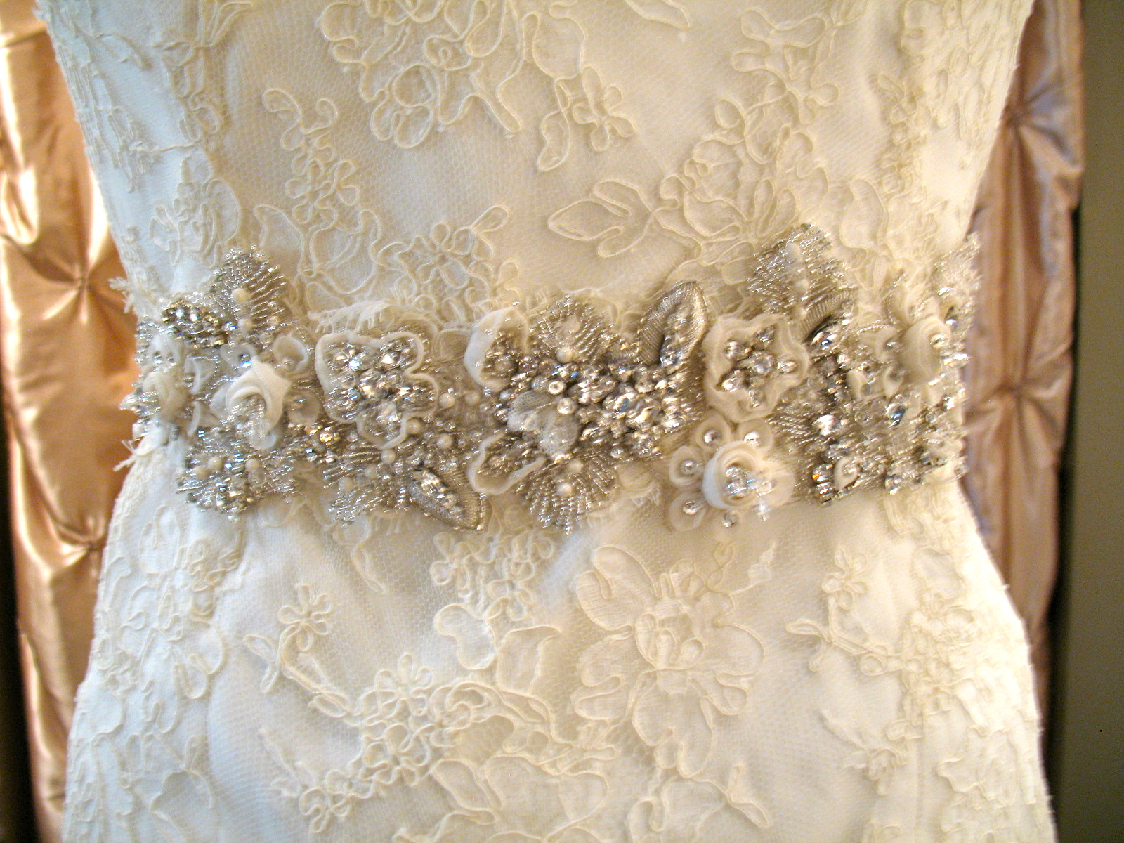 Beaded or Bejeweled - Badgley Mischka Sashes Are Here! — Little ...