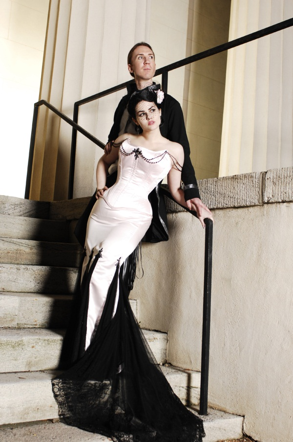 Halloween Wedding Inspiration From Lwd Little White Dress Bridal