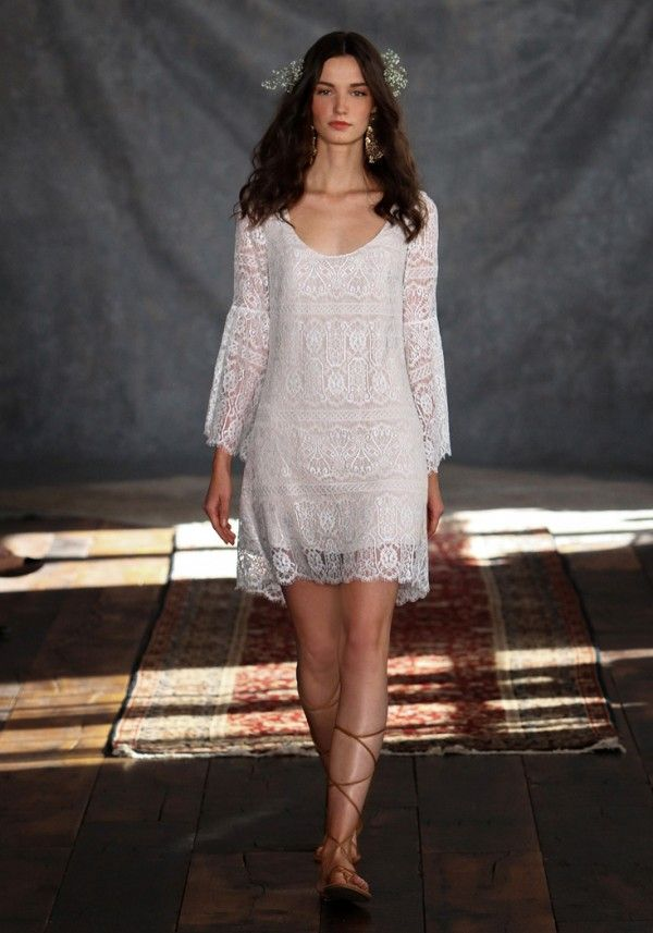 The Kasbah dress - Claire Pettibone Romantique - bohemian beach reception dress