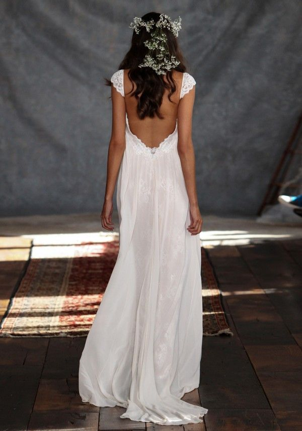 Claire Pettibone Romantique - Phaedra boho wedding dress