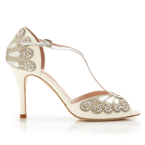 Wedding Shoes By Emmy London And Marchesa