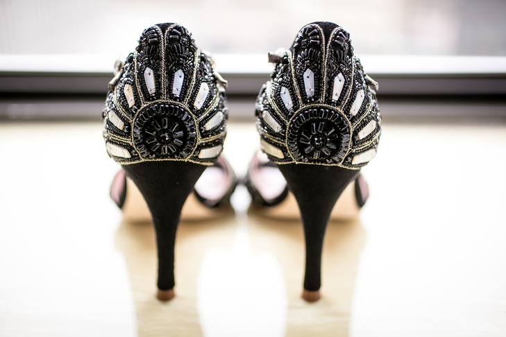 Halloween wedding inspiration | Shoes by Emmy London