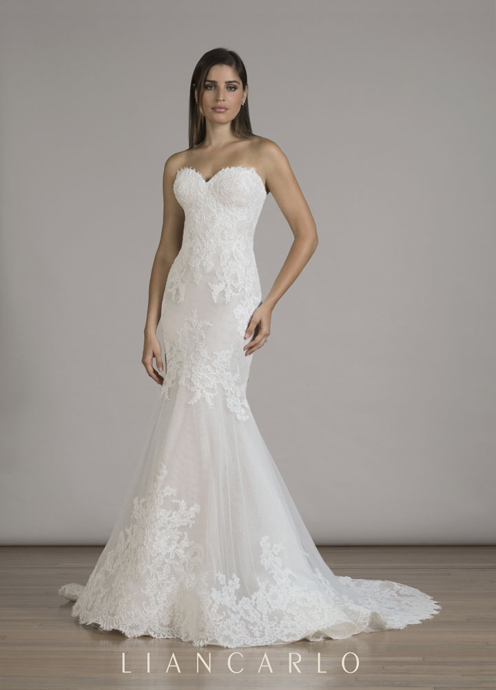 Liancarlo Fall 2016 collection at Little White Dress Bridal Shop in Denver, Colorado