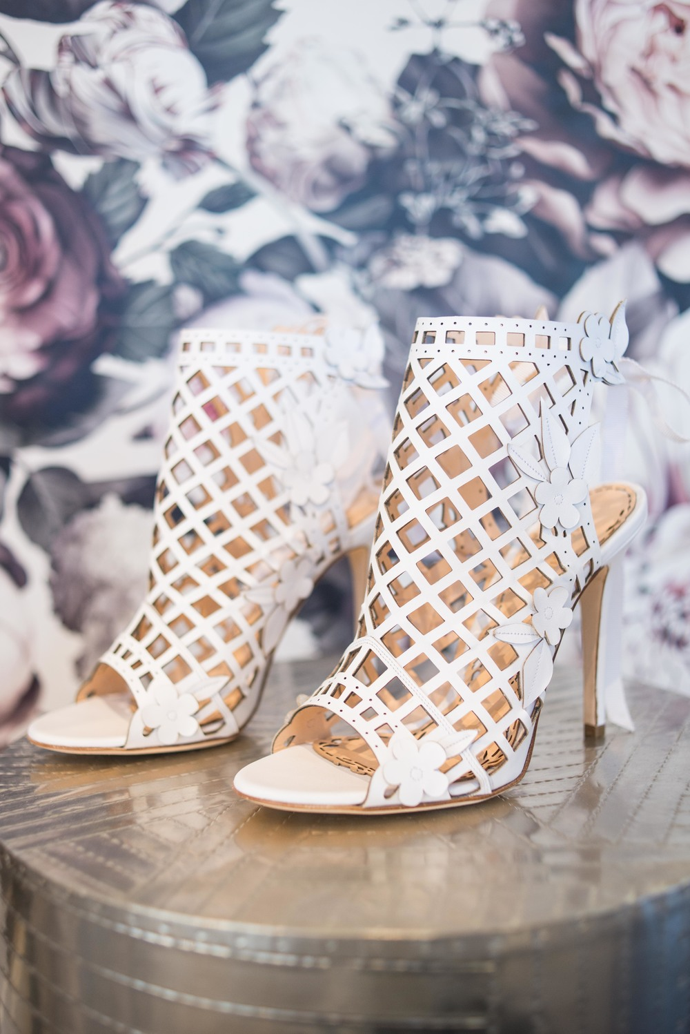 Marchesa shoes - Edith | available in Colorado only at Little White Dress Bridal Shop, Denver