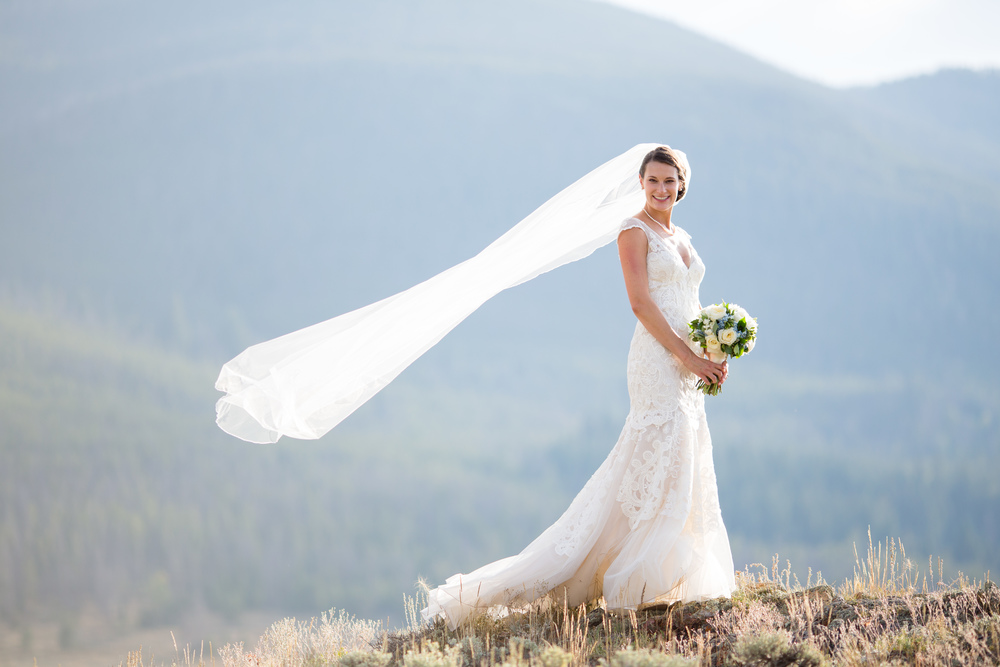 Keystone Ranch Wedding | Liancarlo 6811 available at Little White Dress bridal shop in Denver |  Sarah Roshan Photography