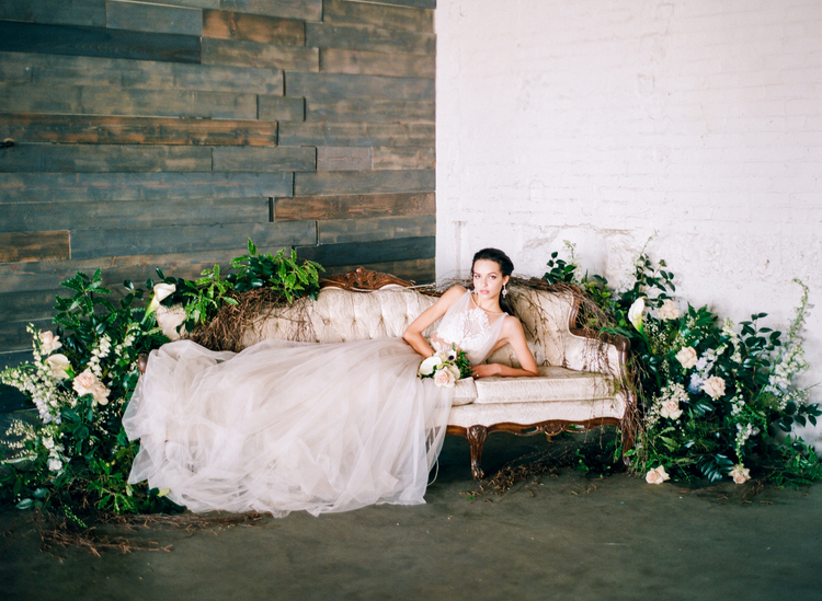 Modern styled shoot at the moss in denver little white dress galia lahav flavia from little white dress bridal shop connie whitlock photography junglespirit Images