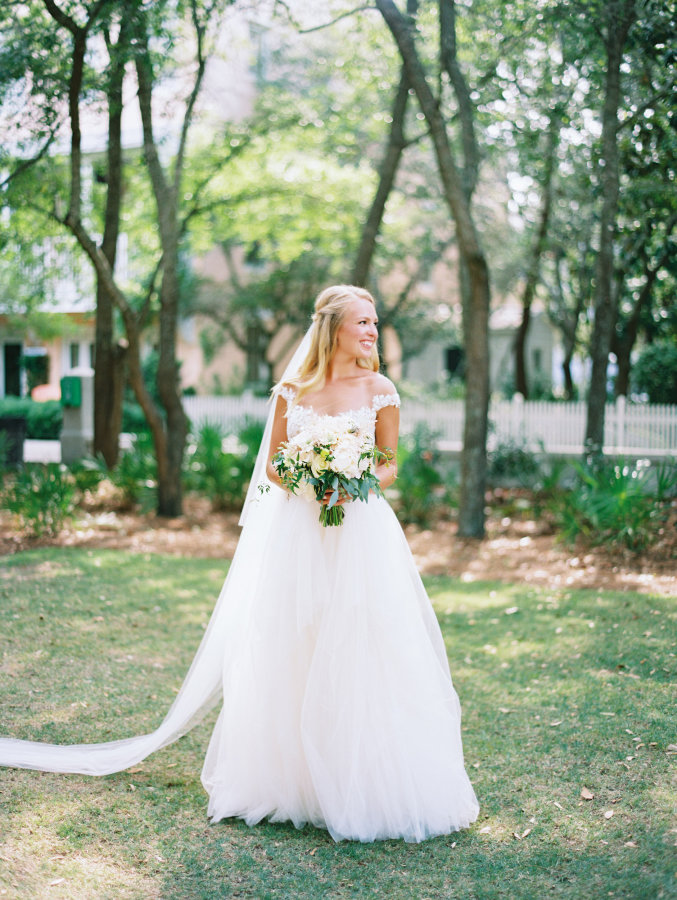 Elle + Adam | Reem Acra custom gown from Little White Dress Bridal Shop in Denver | Lauren Kinsey Photography