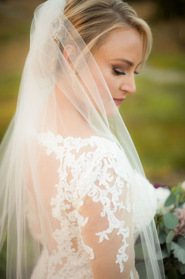 "Ashleigh + Rick | Matthew Christopher ""Kingsley"" gown 
