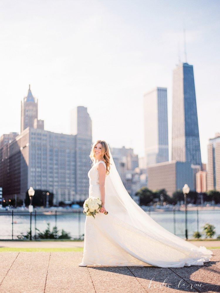 Lauren + Brendan\'s chic Chicago wedding — Little White Dress Bridal ...