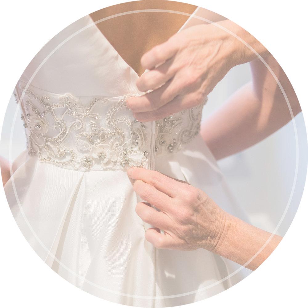 Wedding Alteration: Denver Wedding Dress Alterations