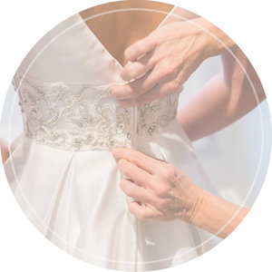 in house seamstresses for bridal alterations wedding dress alterations
