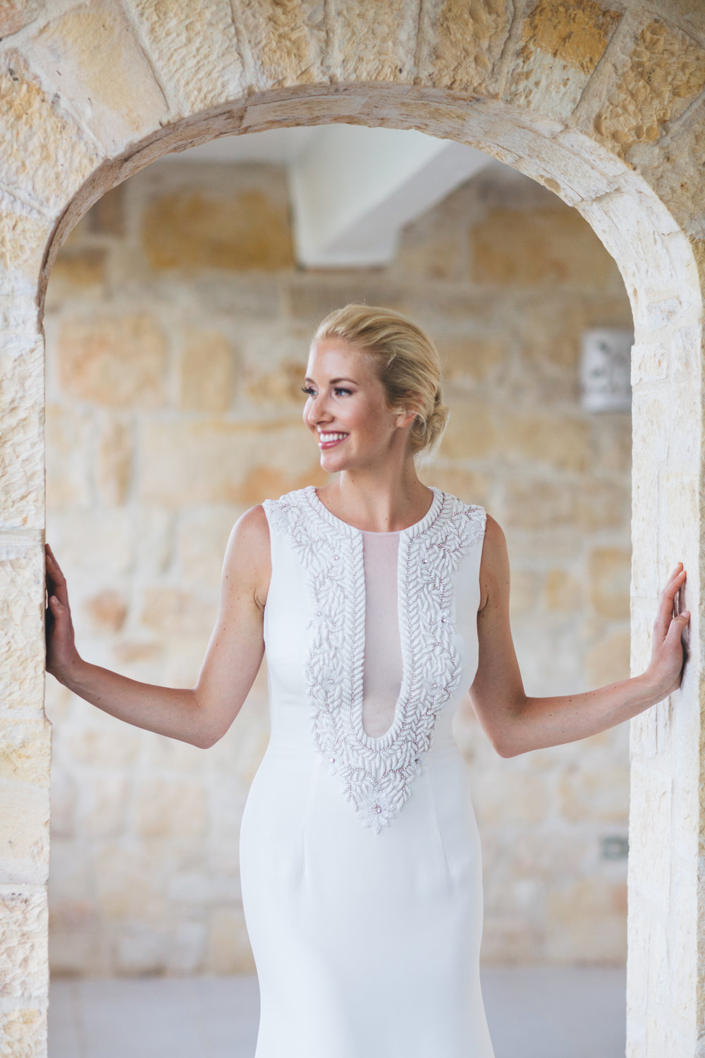 Marina | Naeem Khan Sydney gown |  Lauren and Abby Photography