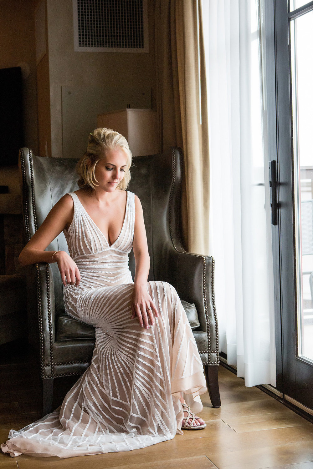 Whitney | Naeem Khan Hollywood gown |  Real Life Photographs