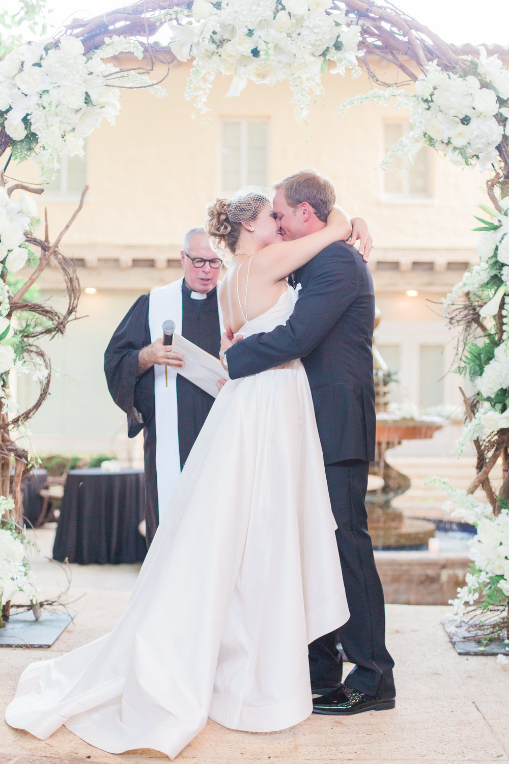 Anne Barge Ryland gown from Little White Dress in Denver | Boca Raton, Florida wedding at The Addison | Thompson Photography Group