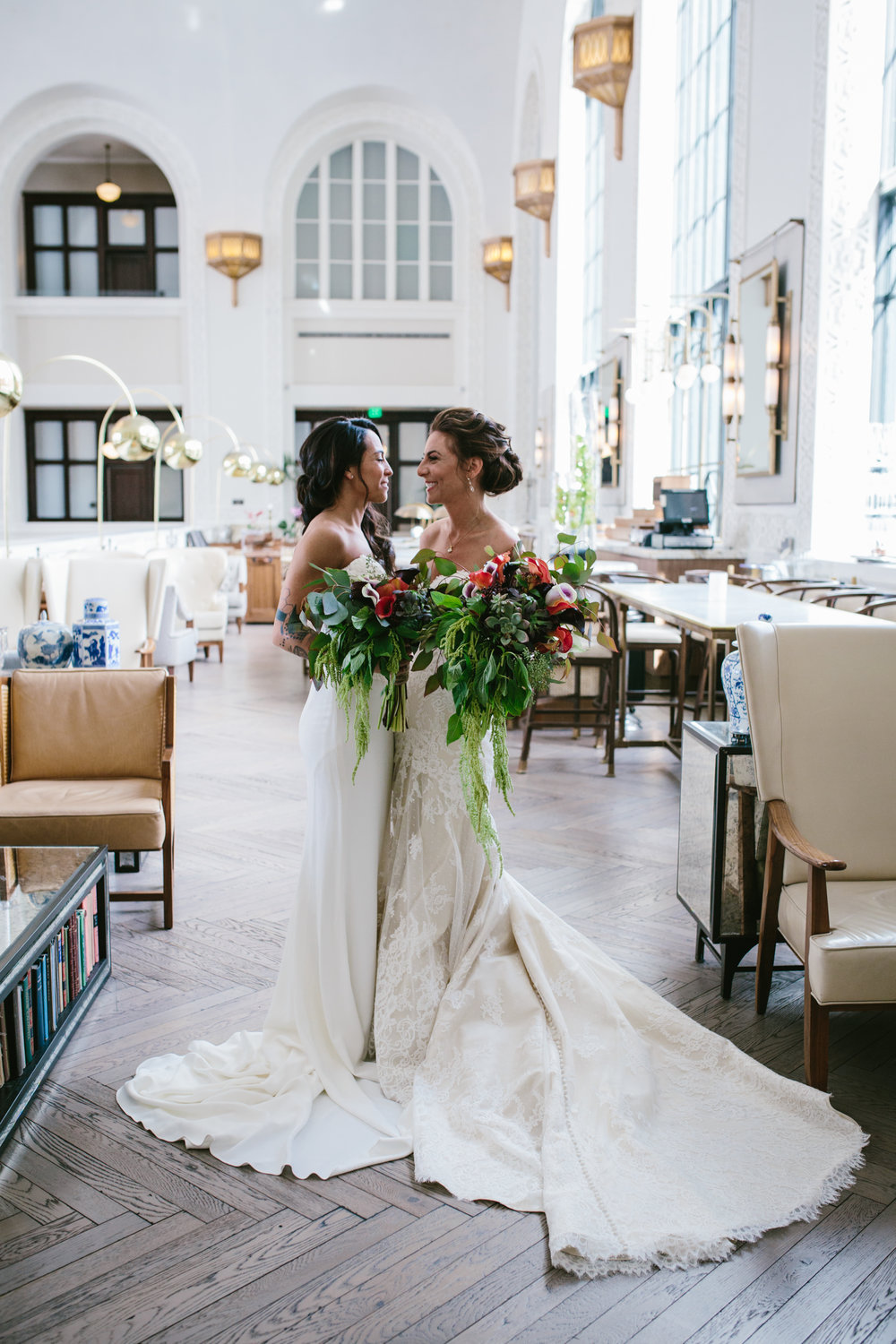Emily + Jovan - A city-chic wedding in Denver