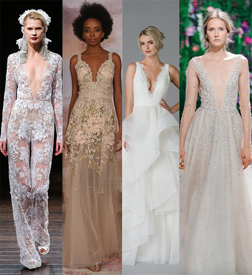 From left to right: Naeem Khan, Claire Pettibone, Lis Simon, Galia Lahav.