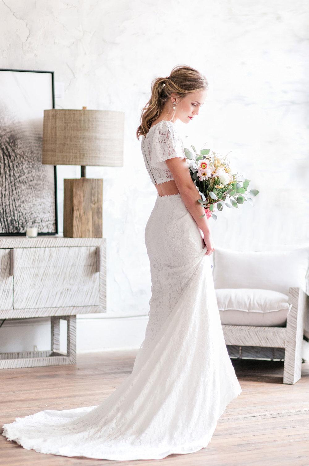 Little White Wedding Dress