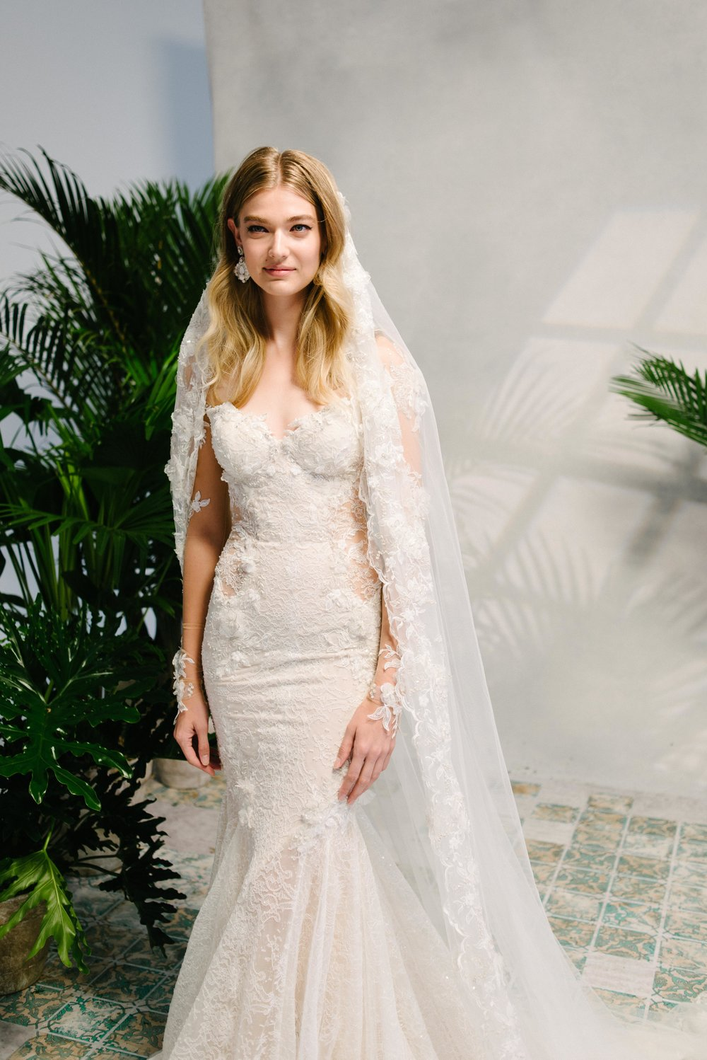 Bridal Fashion Week Trends 2019, New York Bridal Fashion Week, Bridal Market, Statement Veils