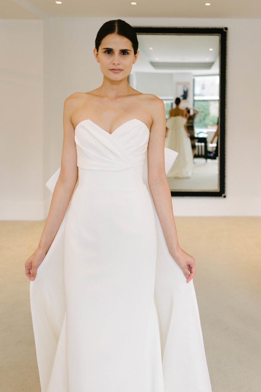 Carolina Herrera Collection 2019, Bridal Fashion Week, New York Bridal Market, New Carolina Herrera Collection, Little White Dress Bridal Shop, Denver CO Wedding Dresses