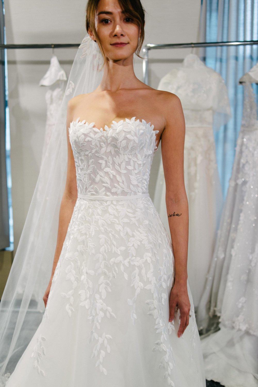 Mira Zwillinger Fall 2019, Bridal Market 2018, Little White Dress Bridal Shop, Denver CO, New York Bridal Fashion Week 2018, Wedding Dress Trends 2019
