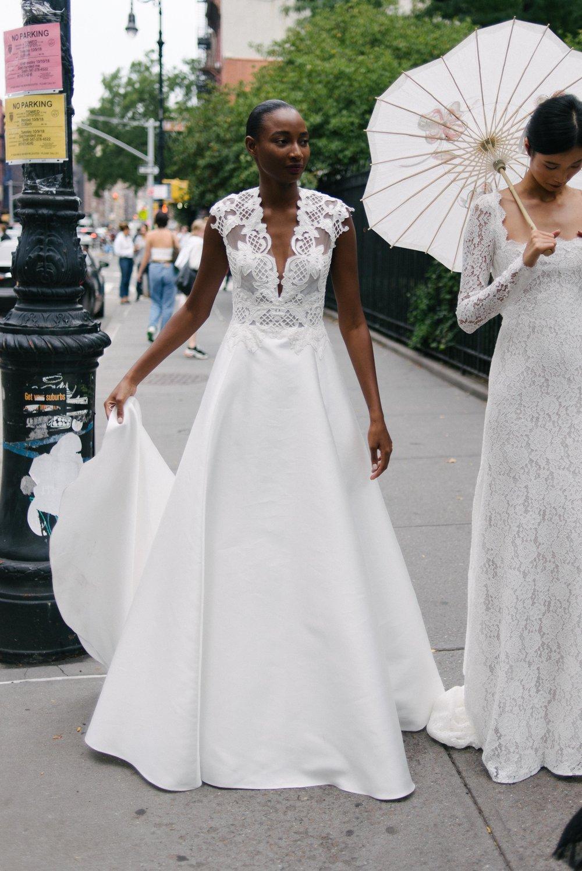 Lela Rose Bridal Market 2018, Lela Rose Fall 2019, Lela Rose at Little White Dress Bridal Shop, Denver CO