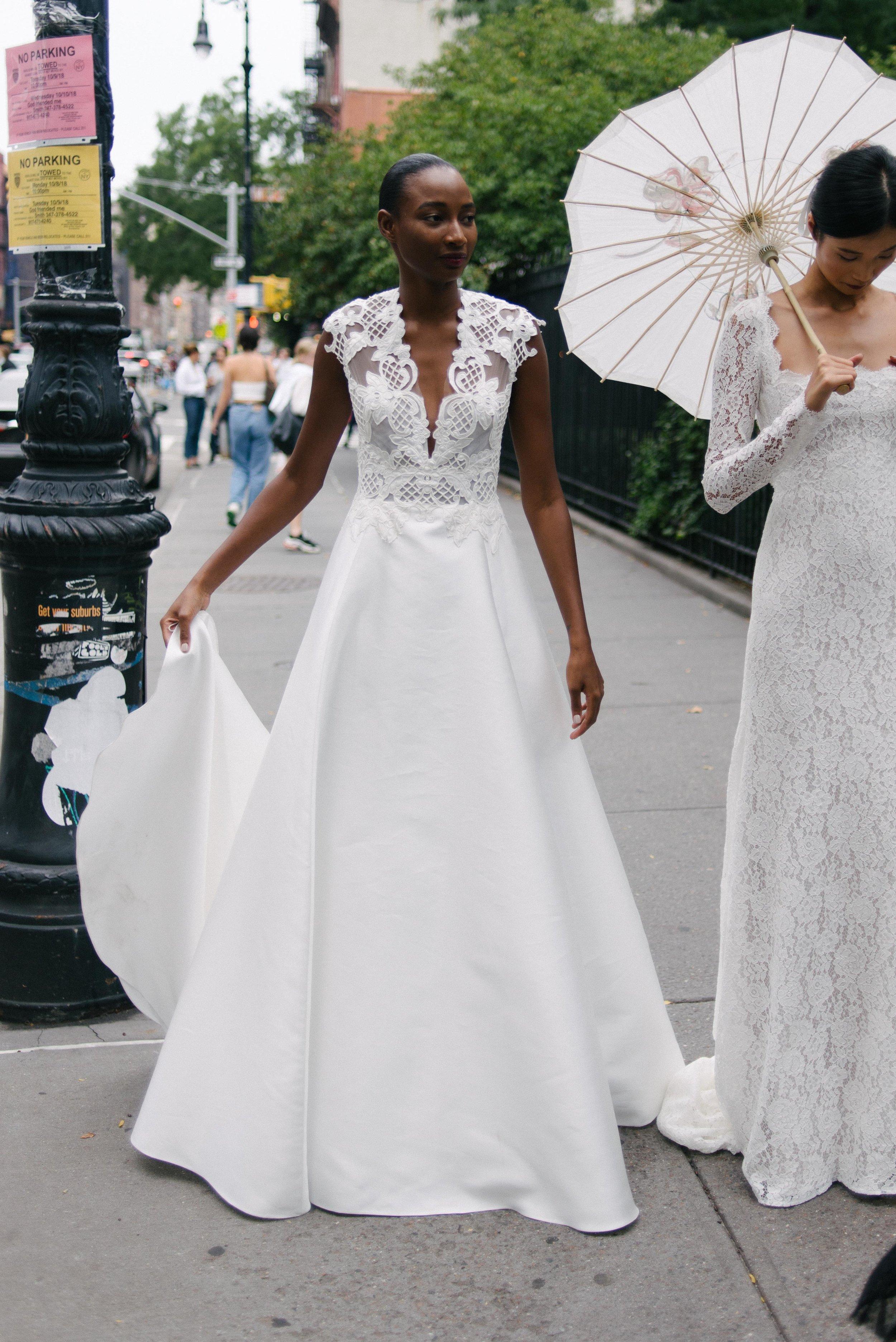 59e103419bb Lela Rose s Bridal Garden Party — Little White Dress Bridal Shop ...