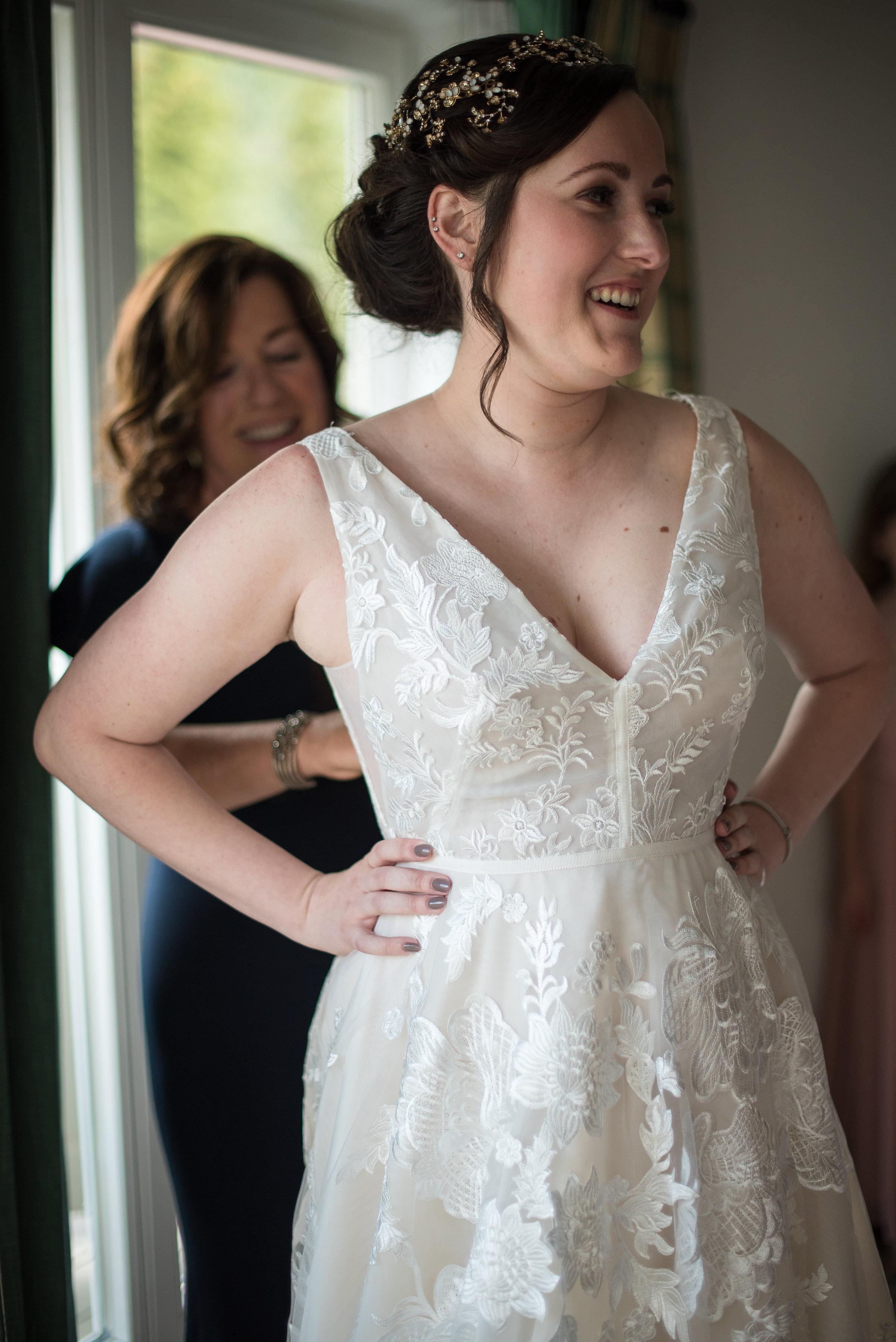 Charlotte Ryans Chic Sonnenalp Vail Wedding Little White Dress