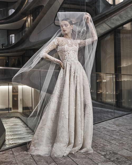 Naeem Khan Designer Wedding Gowns Little White Dress Bridal Shop