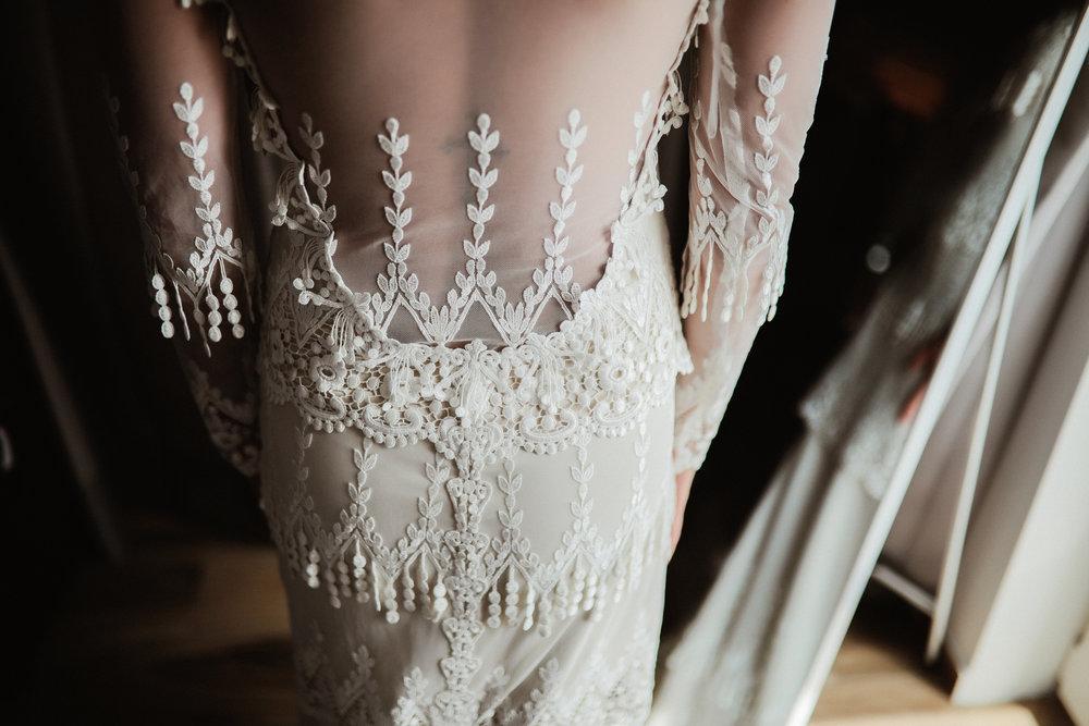 Little White Dress Bridal Shop Denver, Claire Pettibone Custom, Kristene by Claire Pettibone, Croatia Wedding, Bridal Shop Denver, Maria Elena