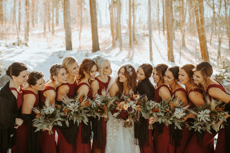 Lauren Vince S Winter Wedding In Vail Little White Dress