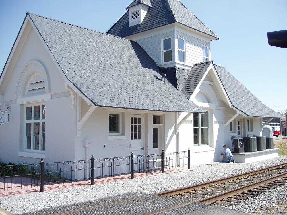 city of franklin: tea21 depot-visitor center