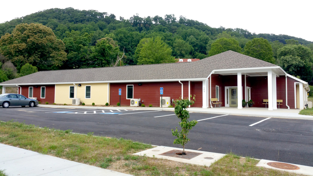 Exterior of the Summit Place Assisted Living Facility in Rich Creek, Virginia  Image Source: Community Planning Partners, Inc.