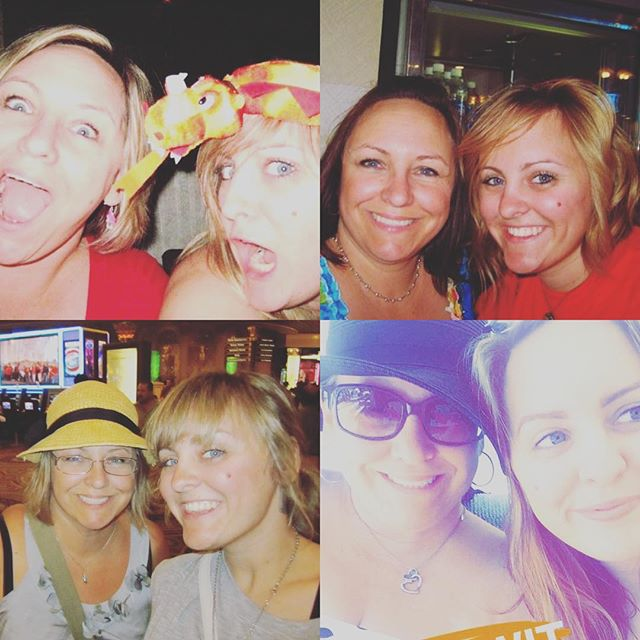 If there's any killer mommas who know how to party it's @imamelfan . Happy birthday to my favorite mom ! I wish I could be in Vegas with you right now!! (THESE ARE ALL VEGAS PICS FROM DIFFERENT TRIPS! it's NOT even all of them!!! )  Love you momma. Happy birthday 💕