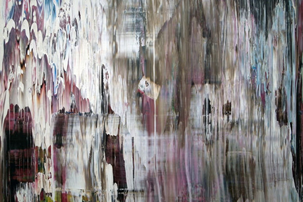 Gerhard Richter, detail from Abstract Painting (907-13).