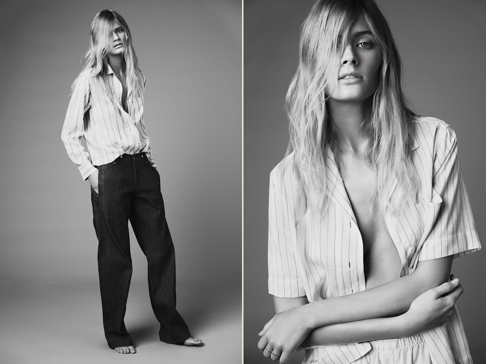 Photos by Nick Dorey, for Twin Magazine, styled by Naomi Miller.
