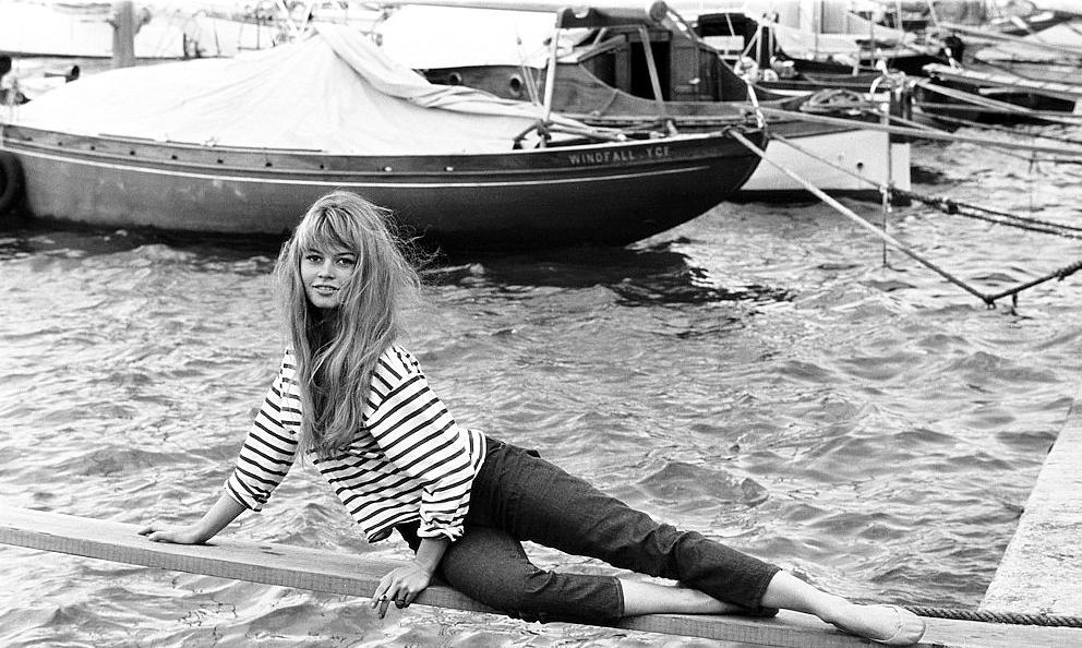 Brigitte Bardot, Saint-Tropez 1958.
