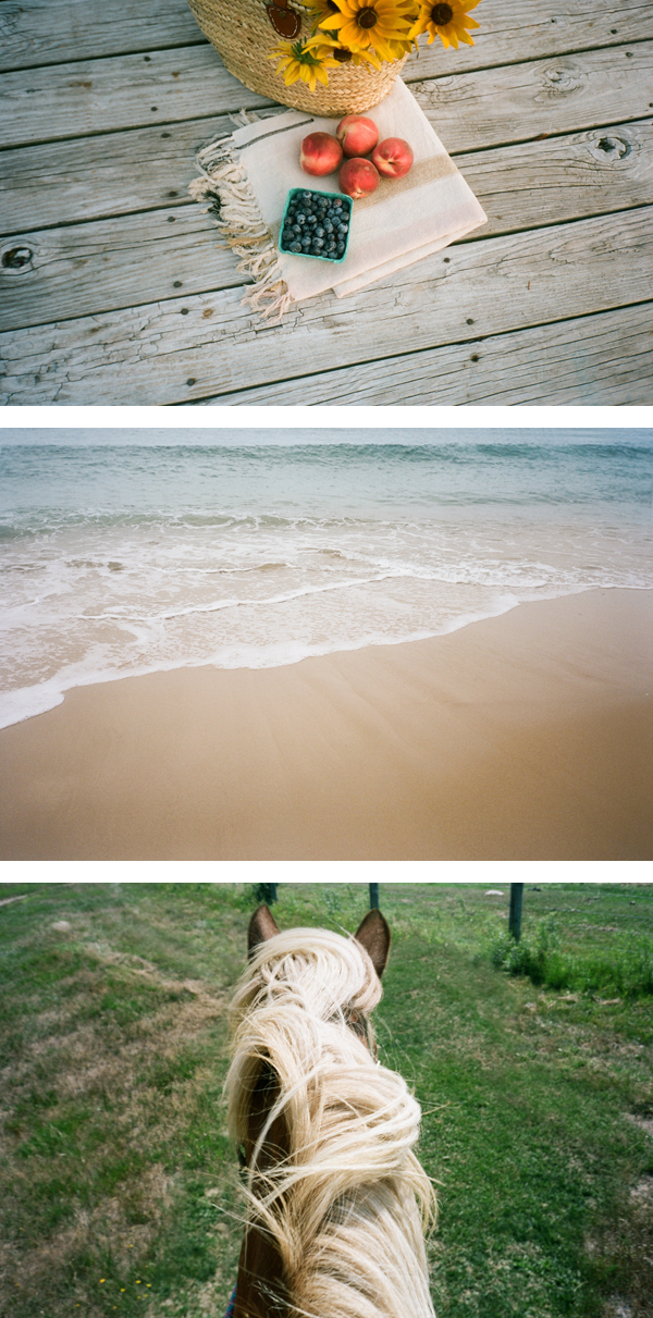 Film photos by me, Montauk.